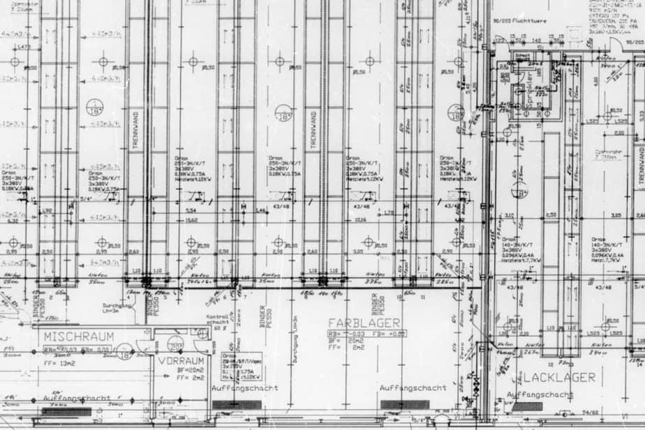 digitalgut ag Pläne Mikrofilmkarten digitalisieren_0000_Deckenschutz_Alt-Neubau_6129-00